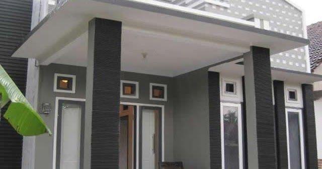 Model Teras Cor Dak Rumah Minimalis
