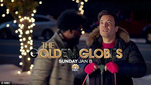 The Old Globs? Jimmy Fallon channels infamous light fiasco from National Lampoon's Christmas Vacation (1989) in comical commercial for Golden Globes