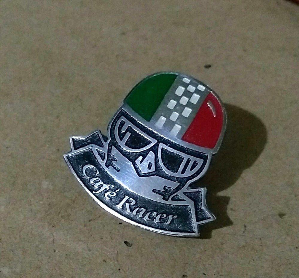 Motorcycle Biker Jacket Cafe Racer Rocker Ace Cloth Patch Badge ESSO OIL MAN