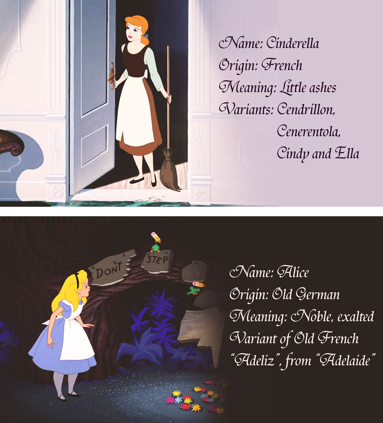 The meaning of Alices name, its origin and character of a person with that name