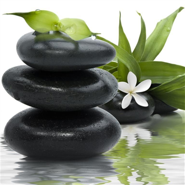 tableau toile imprimee zen galets noirs et bambous 768 768 z nitude pinterest. Black Bedroom Furniture Sets. Home Design Ideas