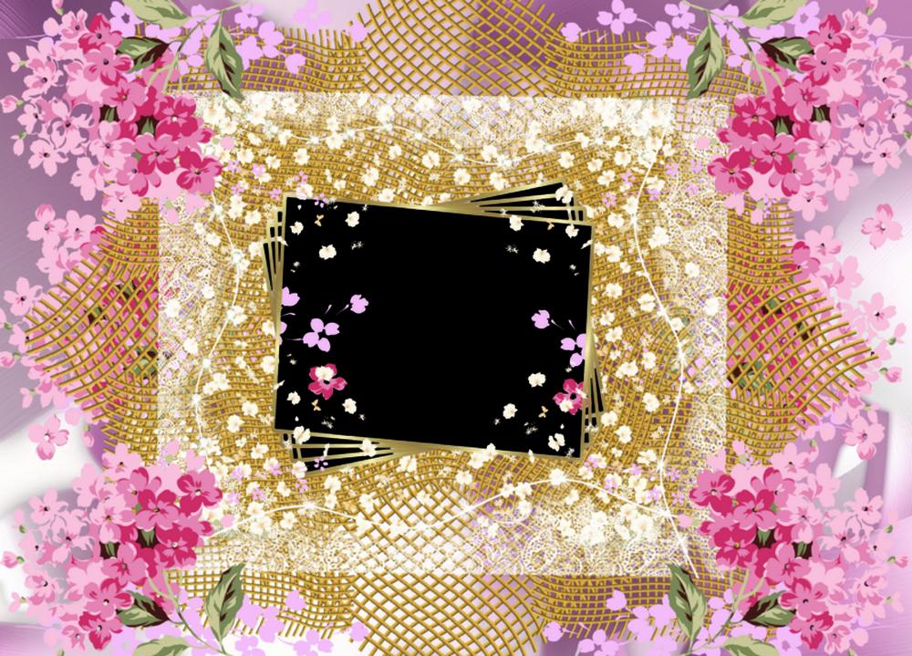 marcos de flores para - Google\'da Ara   YAZI FONLARI 2   Pinterest ...