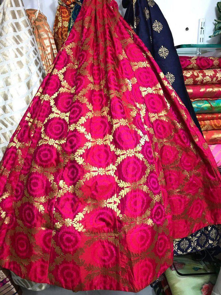 1debae2fbf Pure Banarasi silk lehenga   lehengas   Silk lehenga, Lehenga ...