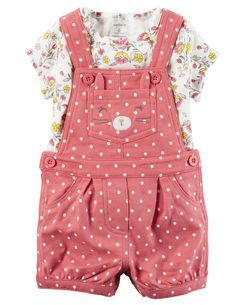 75cd9800d 2-Piece Tee & Shortalls Set | If we have a little girl LI/ZR/TR/KR ...