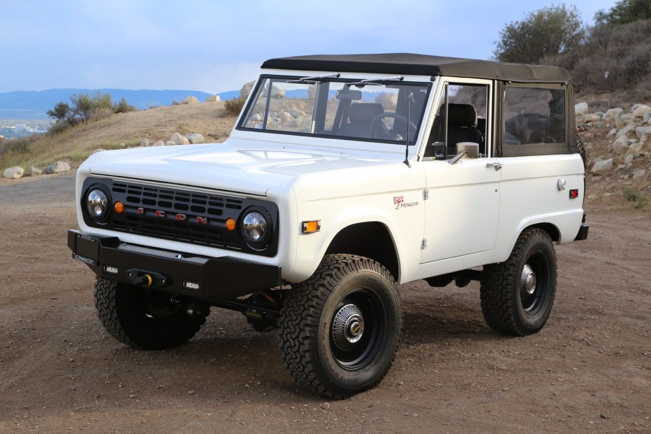 Icon S Latest Bronco Is Restomod Perfection Ford Bronco Bronco