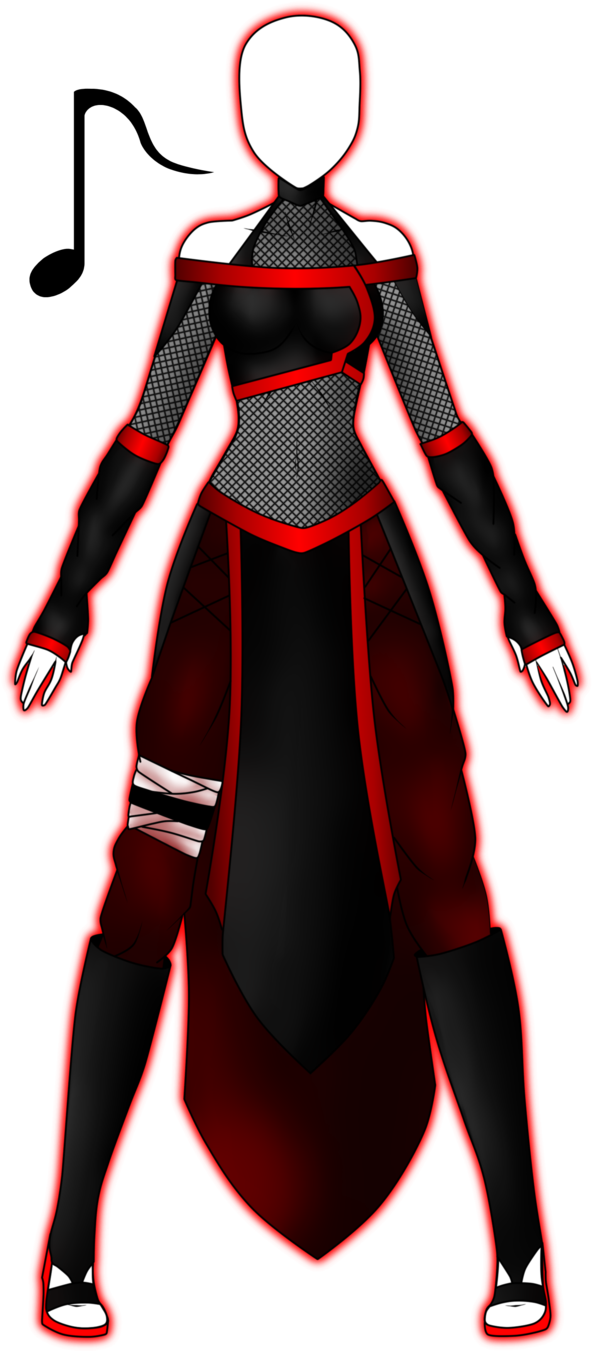 Vulkana's Naruto Outfit by 2050 on deviantART Face