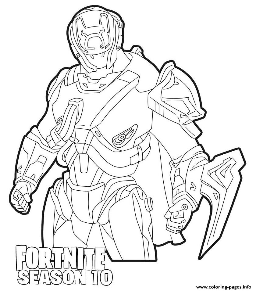 Print The Scientist Skin From Fortnite Season 10 Coloring Pages Coloring Pages Cute Coloring Pages Coloring Pages For Boys