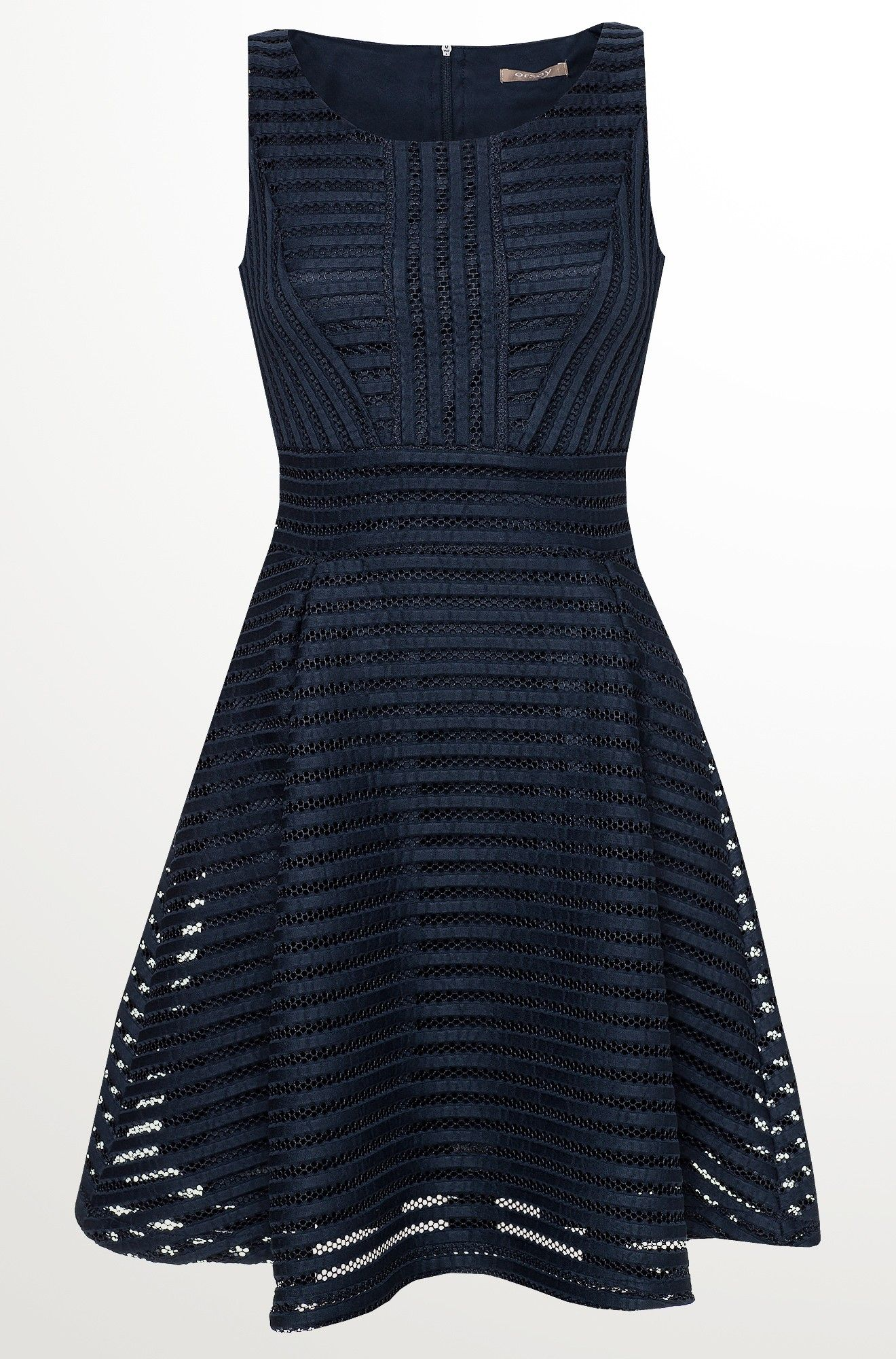 Kleid mit Glockenschnitt | Schöne kleider, Kleider ...