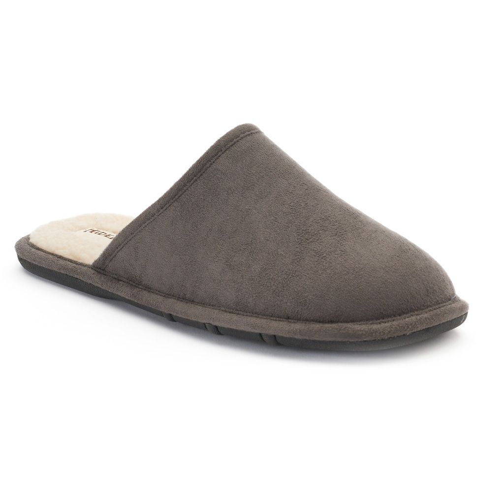 Hideaways by L.B. Evans Pacey ... Men's Suede Scuff Slippers shop for for sale cost for sale best seller sale online AMyfcCWac7