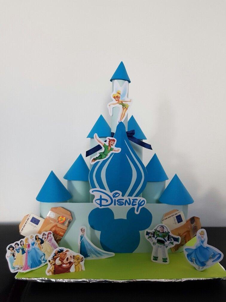 Geldgeschenk, Hochzeit, Geburtstag, Disney, Prinzessin, Peter Pan ...