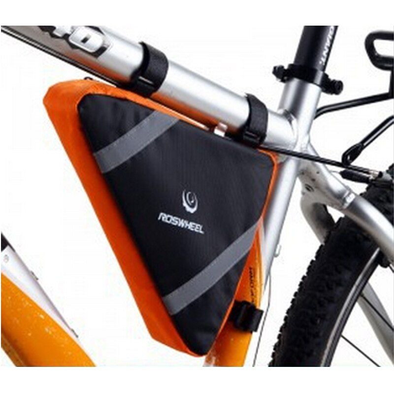 Outdoor Bicycle Cycling Triangle Bike Bag Front Tube Frame Bags Pouch Waterproof