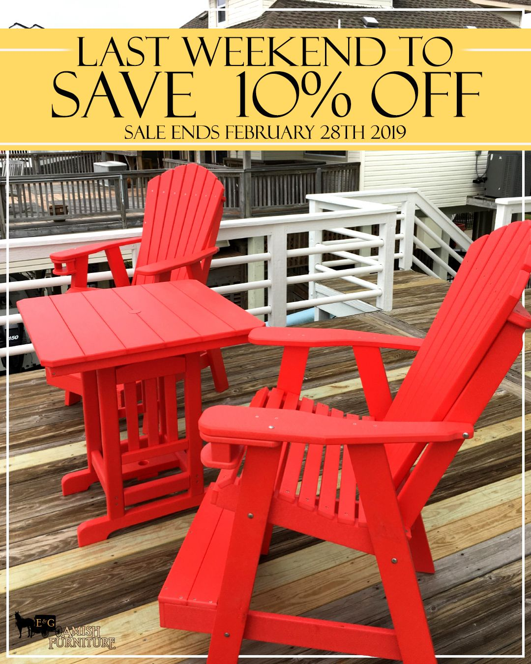Patio Furniture For Sale, Amish