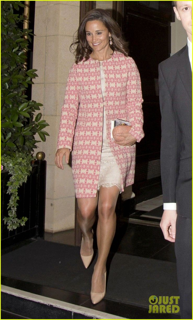 Pippa leaving a wedding at the Dorchester Hotel on 5/30/2014 ...