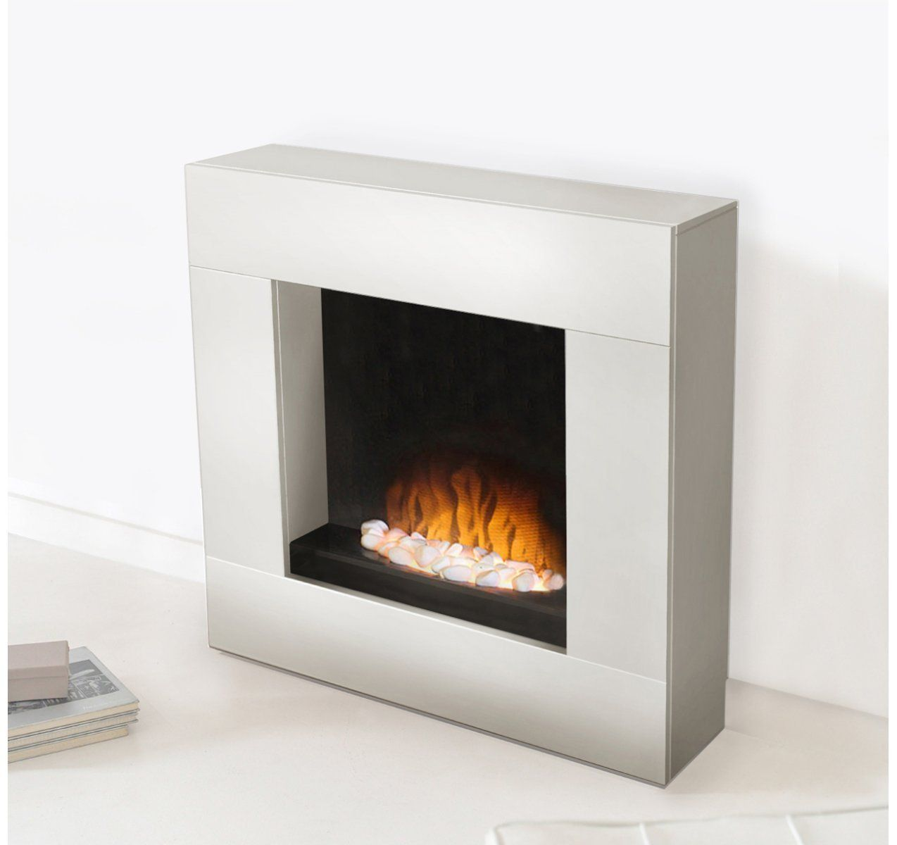 White Fireplace White Electric Fireplace Electric Fireplace Fireplace