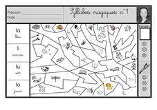 Exercice Coloriage Magique Cp.Coloriages Magiques Phono Cp Sons Simples Atelier Lecture