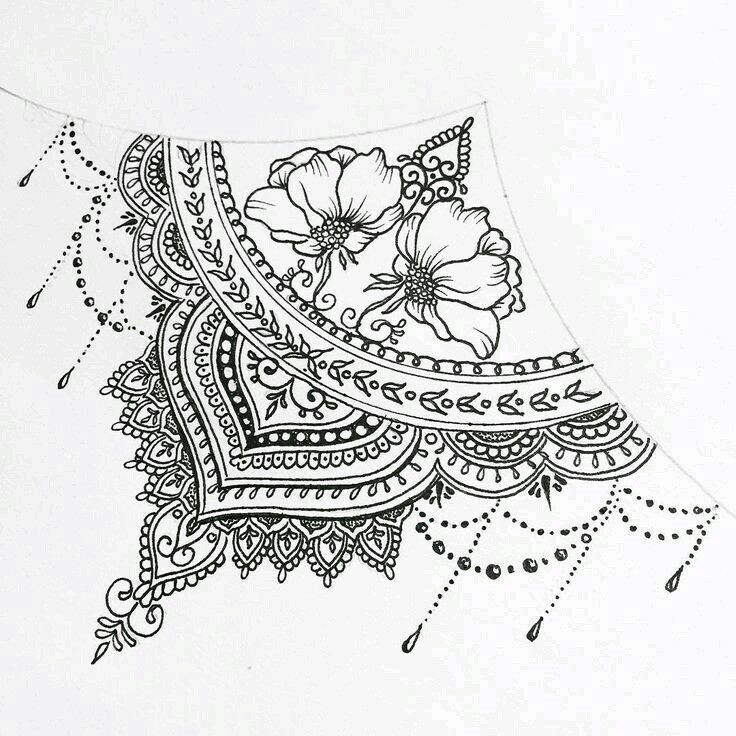 Henna Tattoo Designs Under Breast: Pin By Ashley Baker On Just Be You