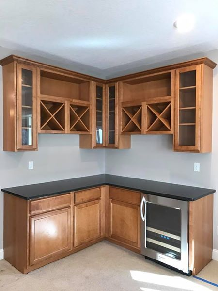 L Shaped Dry Bar Cabinets Granite Could Be Included If In Good