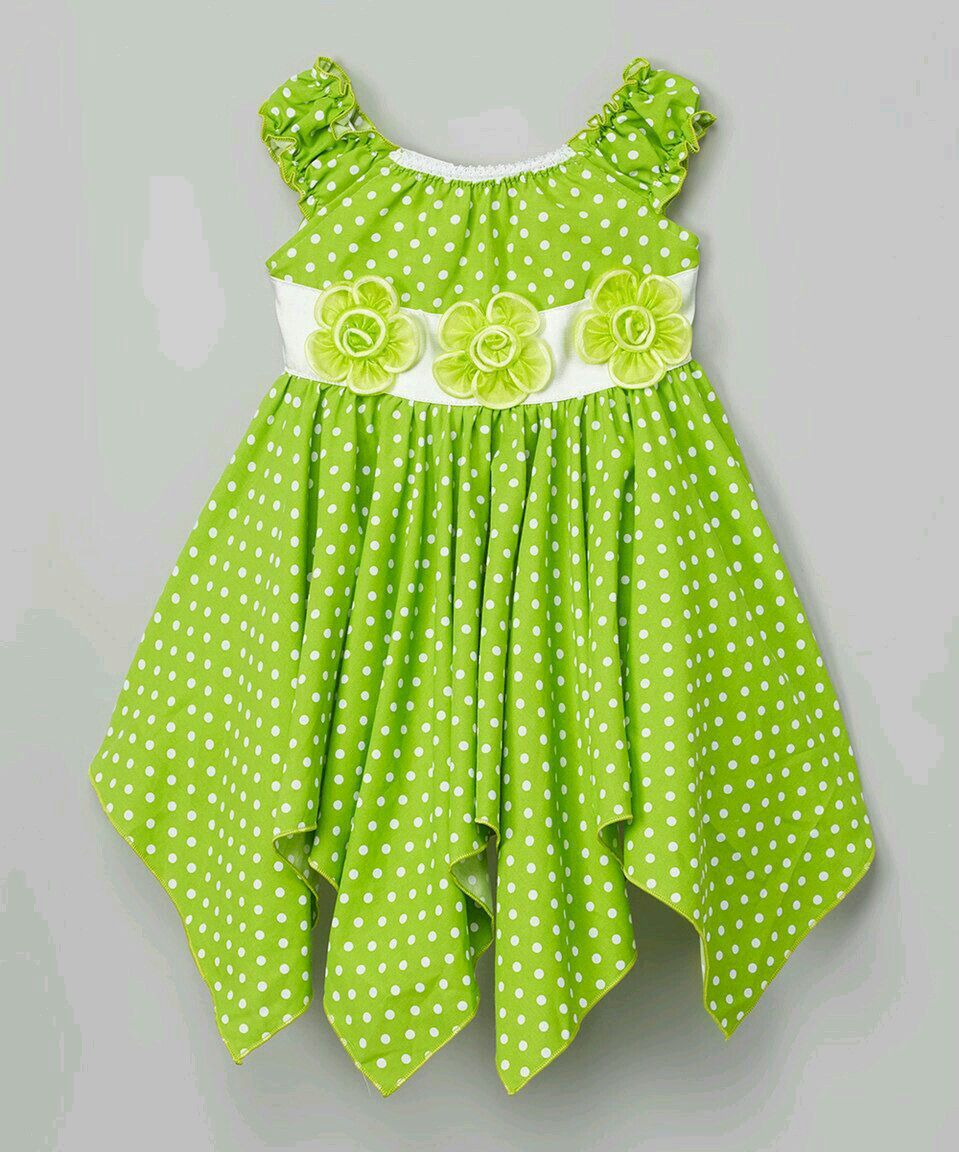 Green dress baby images  Pin by Affiee on  kids  Pinterest