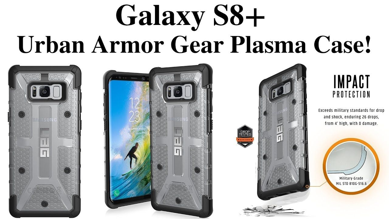 Galaxy s6 cases shop samsung cases online uag urban armor gear - Samsung Galaxy S8 Plus Urban Armor Gear Plasma Case