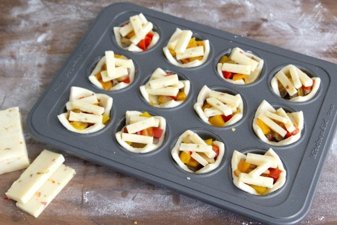Sausage, Pepper and Onion Puff Pastry Bites - With Perdue Farms new direct-to-consumer website, I can stay stocked up on all the premium proteins I need for my recipes. My new favorite? These Sausage, Pepper & Onion Puff Pastry Bites. They make such a great party food and the perfect appetizer for any occasion! #AD#PerdueFarmsFarmtoHome, #PerdueFarms_Partner #FamilyFarming #ThankAFarmer #FamilyFarmers