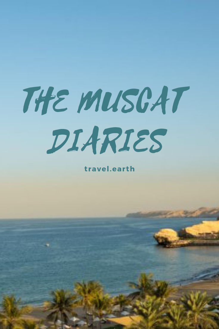 Muscat, the capital of Oman, a beautiful country on the