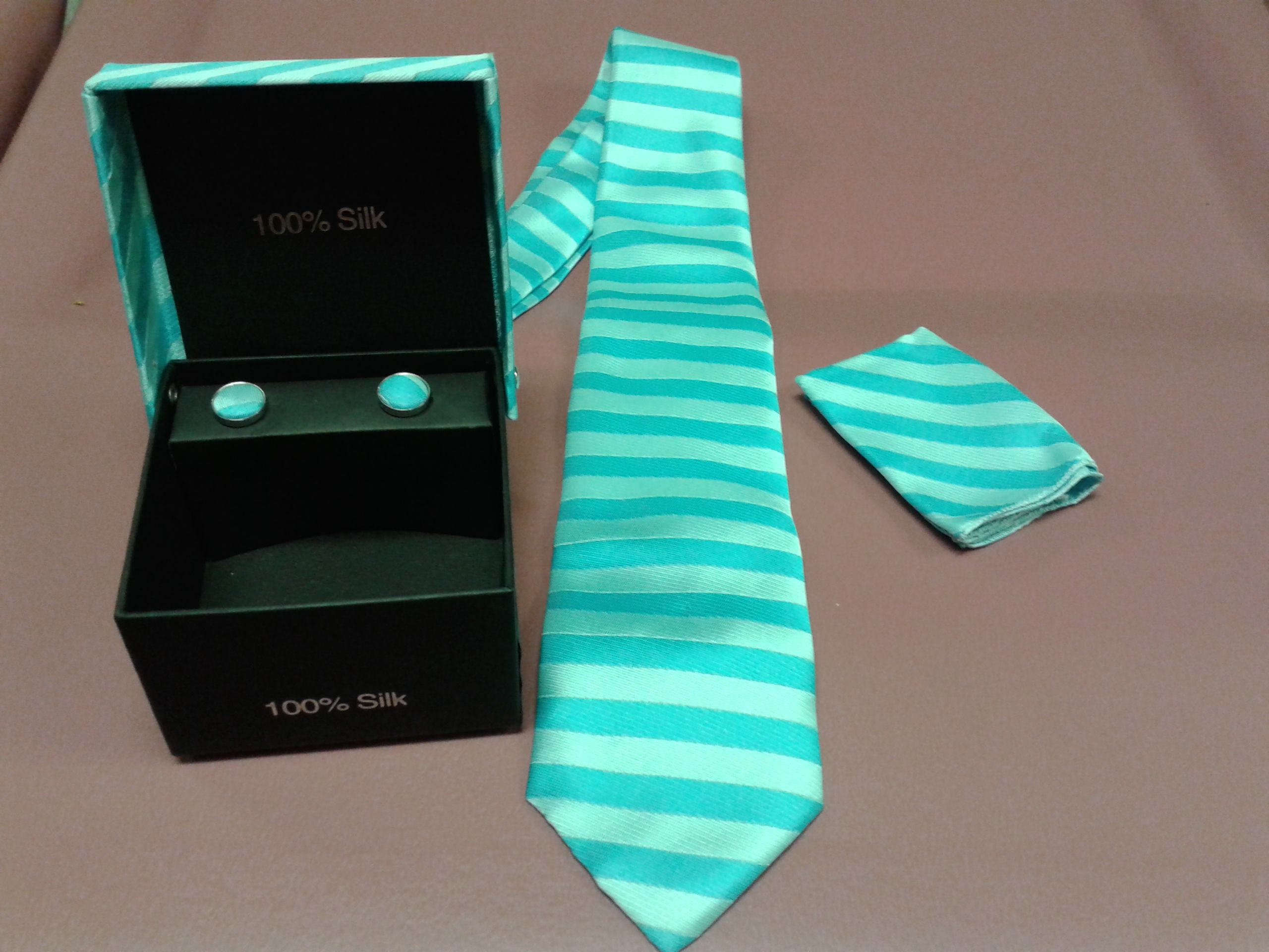 72 Classic Striped 100% Silk Assorted Men's Tie sets Necktie for $720, or 12 for $150 888-237-9993
