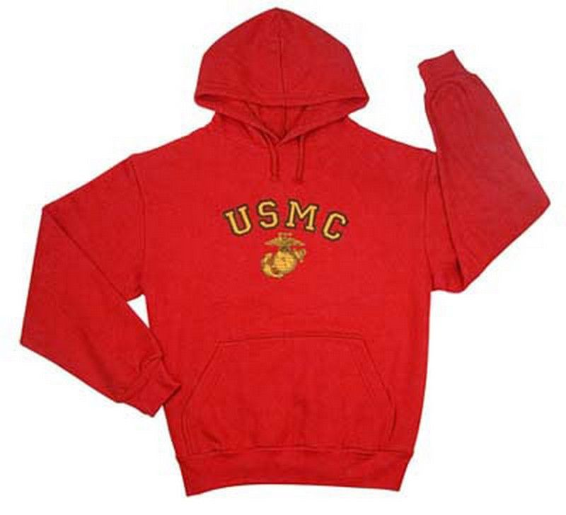 Military sweatshirts red usmc red hoodies  32.11 pullover ed86110783e