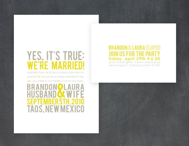 1000+ images about Wedding: Announcements & Fonts on Pinterest ...