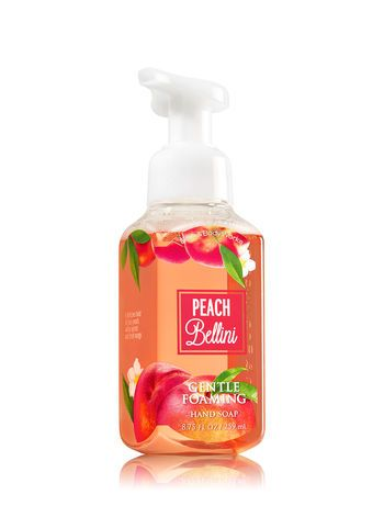 Peach Bellini Gentle Foaming Hand Soap Bath And Body Works Savon