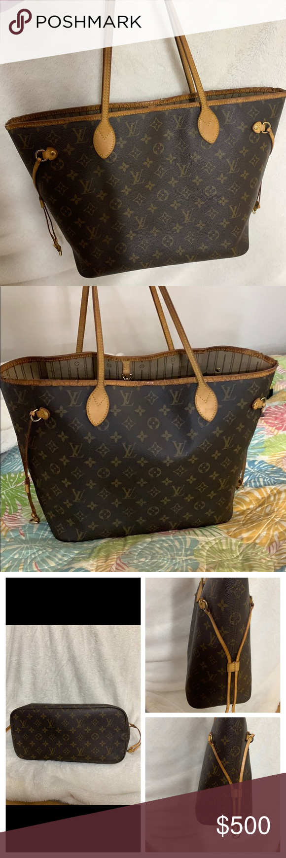Authentic Louis Vuitton Neverfull MM (With images) Louis