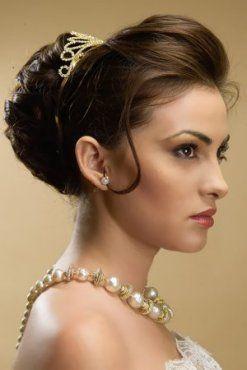 Acconciatura da sposa per viso lungo