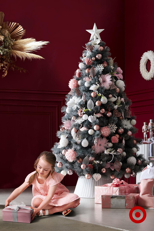 Grey Glitter Christmas Tree 6ft (T8) Christmas