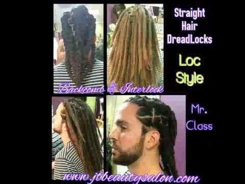 Locking Straight Hair Straight Hairstyles Hair Curly Hair Styles