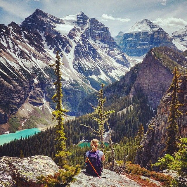 Best Places Hike World: If Ever There Was A Spot To Sum Up The Canadian Rockies, I