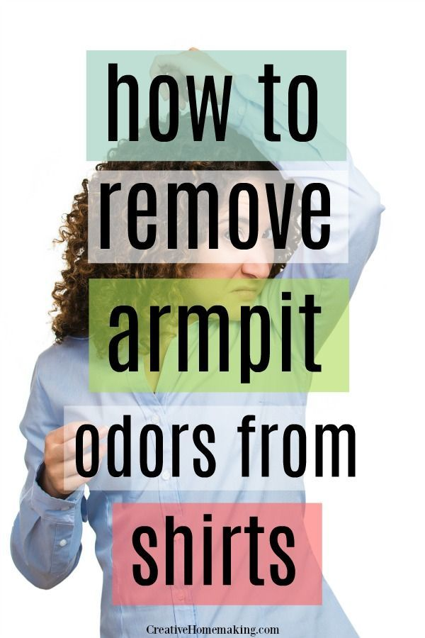 Removing Armpit Odors From Shirts Deep Cleaning Tips Best Laundry Detergent Cleaning Hacks