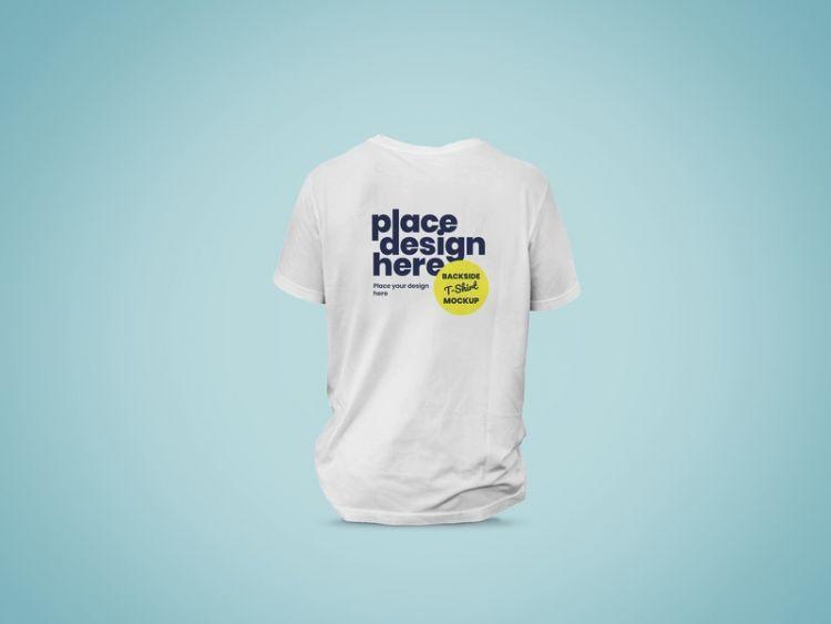 Download Backside Of T Shirt Free Psd Mockup Shirt Mockup Tshirt Mockup Mockup