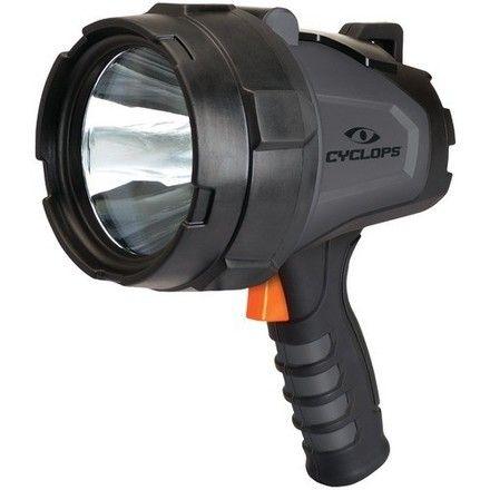 Cyclops Revo 1100 Lumen Handheld Rechargeable Spotlight-Charcoal