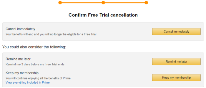 How To Cancel Your Amazon Prime Free Trial Without Getting Charged