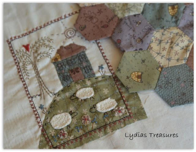 Lydias Treasures.  .... Lynette Anderson Class
