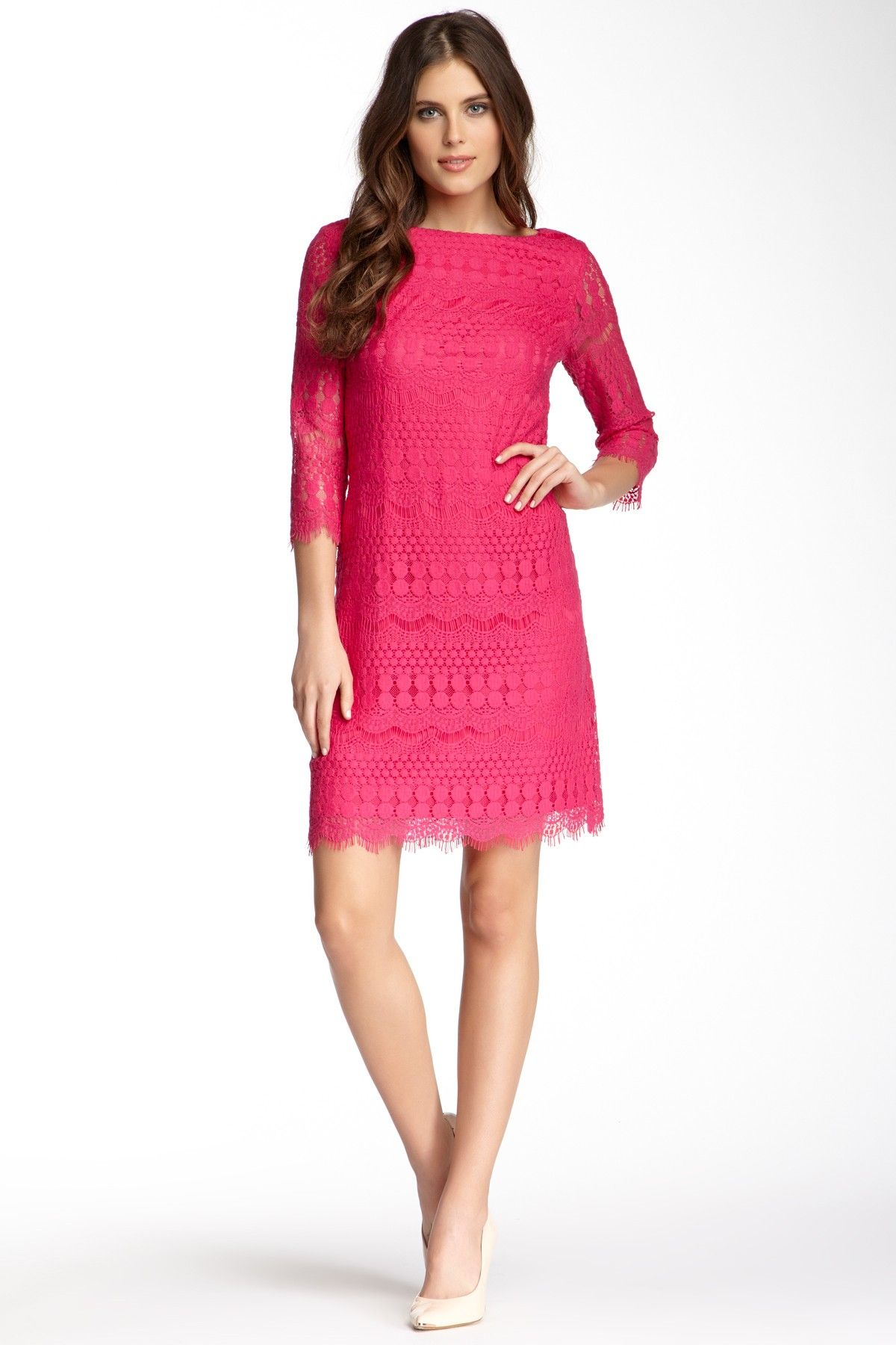 e5ad7ea5 Eliza J Lace Sheath Dress by Eliza J on @HauteLook | give me these ...