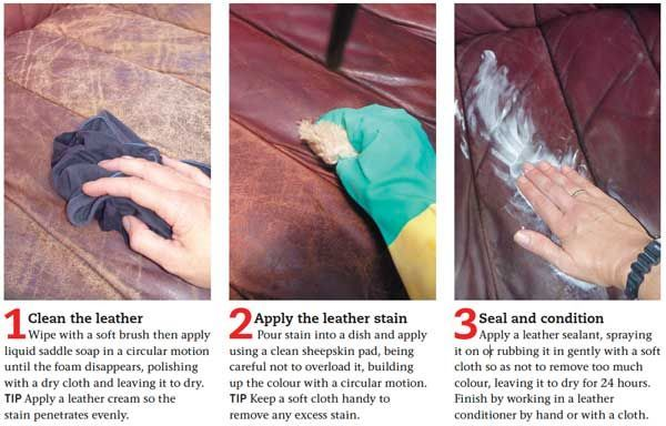 How To Restore A Leather Sofa Readers Digest Australia Leather Restoration Leather Sofa Diy Cleaning Products