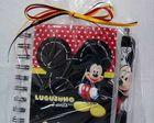 Caderneta Mickey Mouse