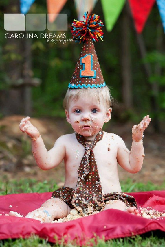 Dots 1st Birthday Outfit Hat Tie And Diaper Cover Cake Smash Photography Prop You Pic