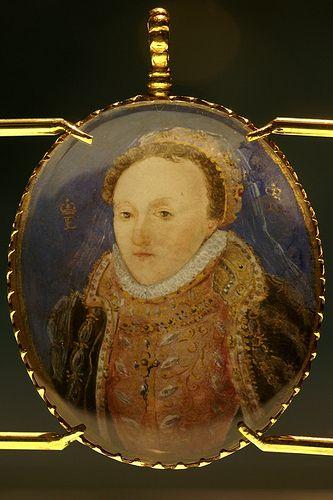 Portrait Miniature of Queen Elizabeth, 1572-1573.