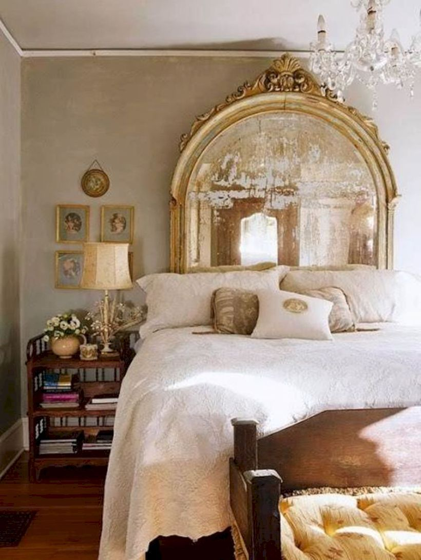 Diy bedroom headboard ideas  stylish diy mirror headboard ideas  diy mirror headboard