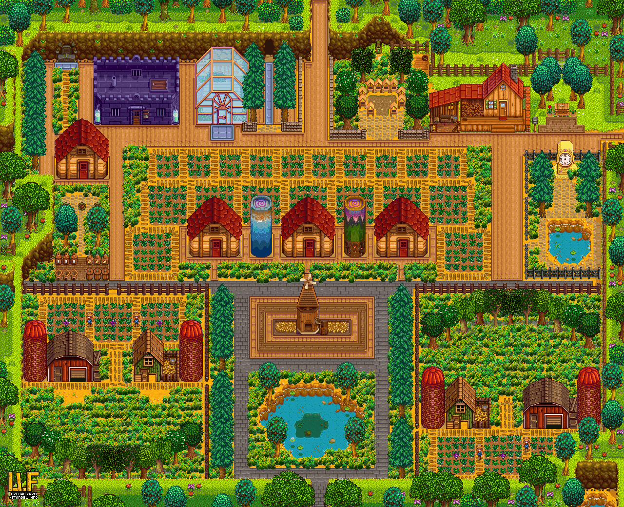 Been working on a new mock layout for my farm  How do you