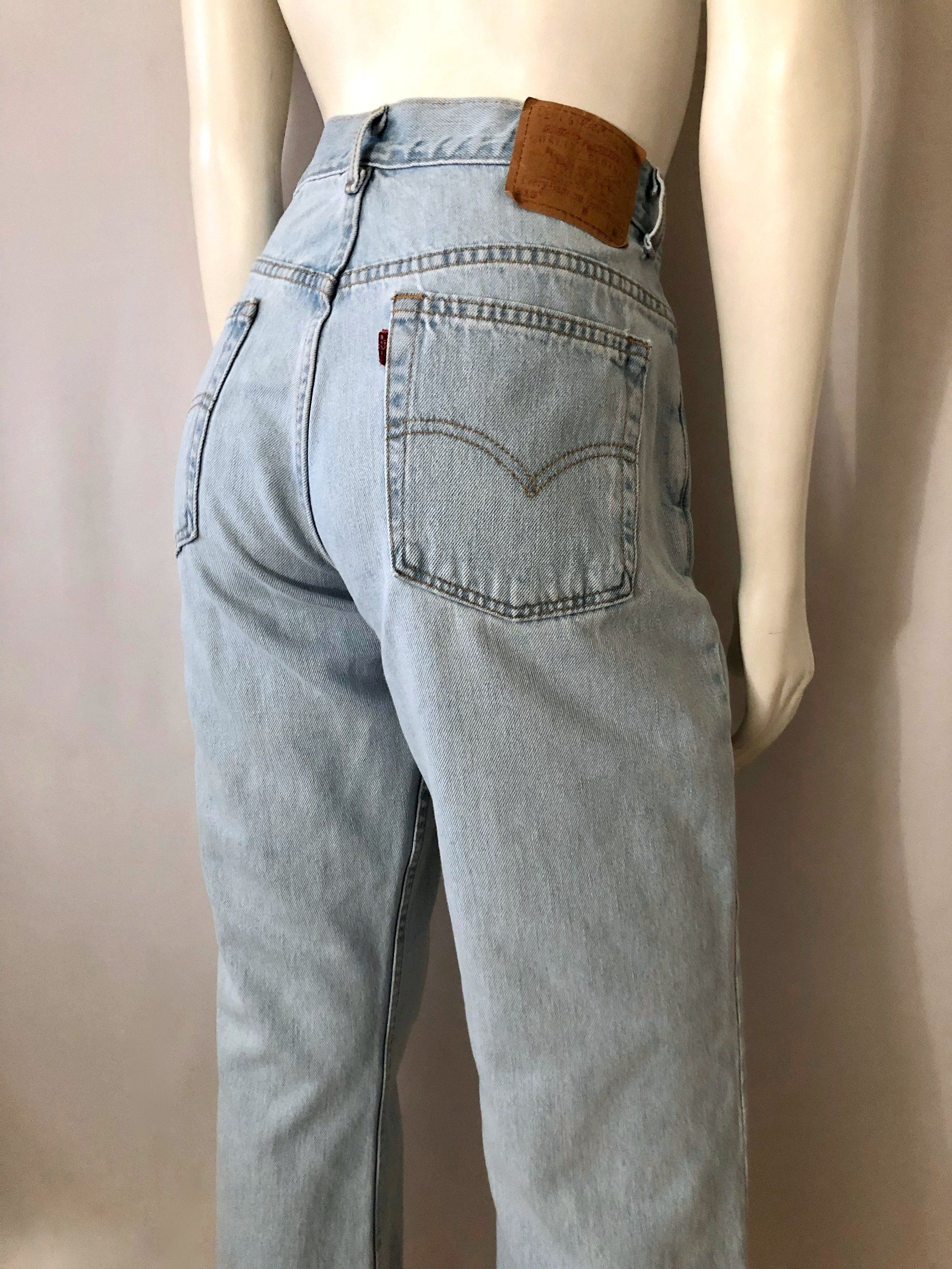 ab4f38ed Vintage Women's 90's Levi's 515, Jeans, Boot Cut, High Waisted, Denim (L)  by Freshandswanky on Etsy