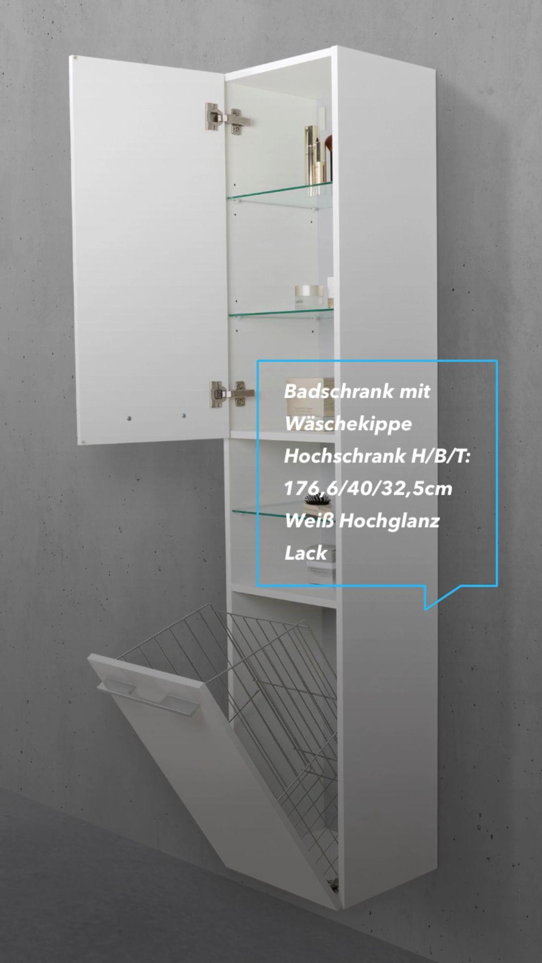 Seitenschranke Mit Waschekippe Breite 40 Cm Video In 2020 Schrank Tolle Badezimmer Wohnung Einrichten Tipps