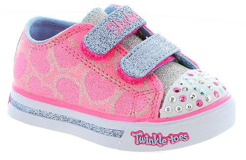 8c4285a4dcf8 Skechers Twinkle Toes Sparkle Glitz-Heartsy Glam 10709N (Girls  Infant- Toddler