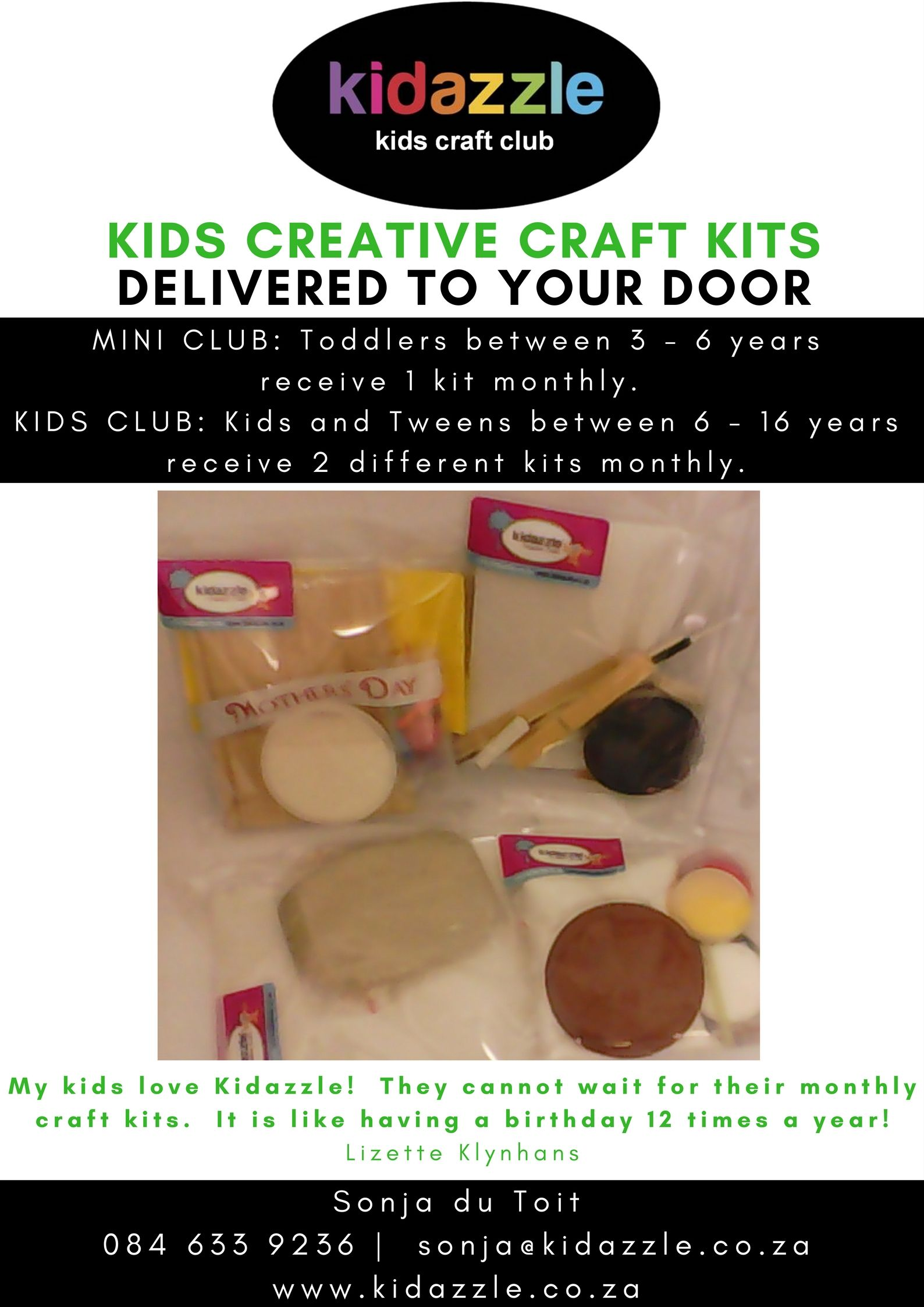 Kids Creative Craft Kits Delivered To Your Door Every Month